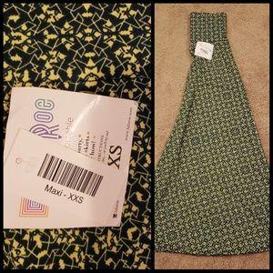Maxi skirt (folded in half in pic)